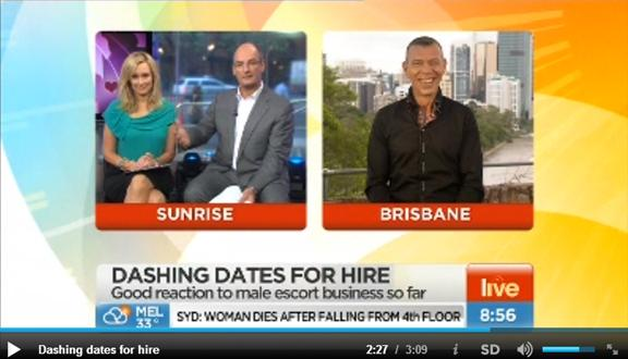 Male Escort Melbourne Interview with Mel and Kochie