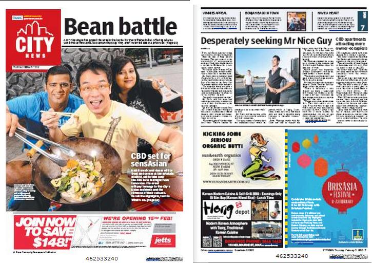 7th Feb 2013 Brisbane City News Article